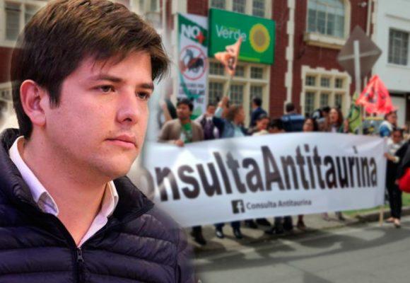 Sin dar la cara, Peñalosa le saca el quite a la consulta antitaurina