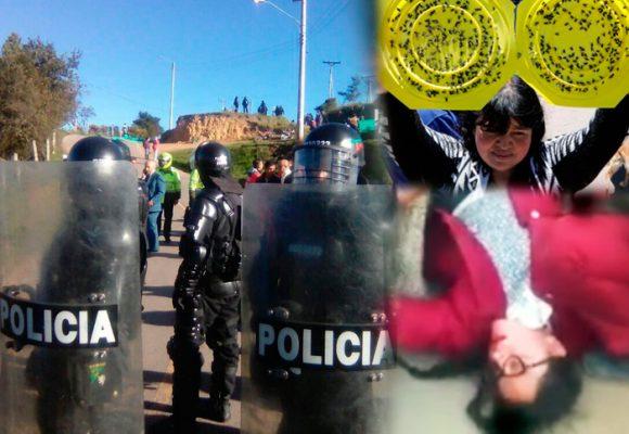 Después de la plaga de moscas llegó el ESMAD a Ciudad Bolivar en Bogotá