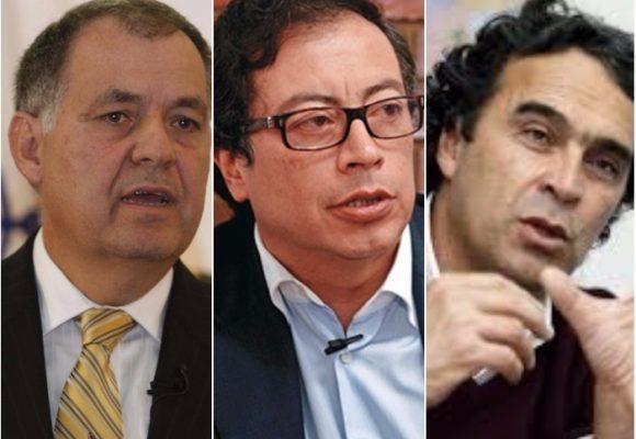 Ordóñez, Petro, Fajardo: contrastes