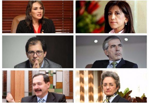 Quien es quien entre los aspirantes a la Jurisdicción Especial para paz