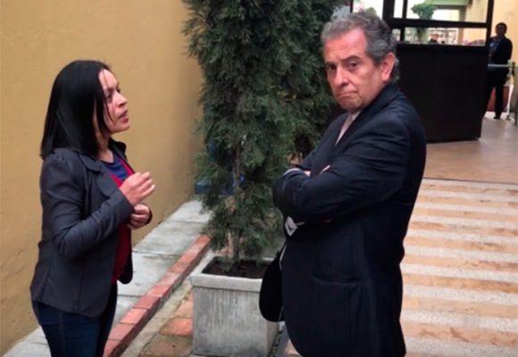 Video: Nunca le robaron la billetera al gerente de Fincomercio, pero sí agarró a golpes a una periodista