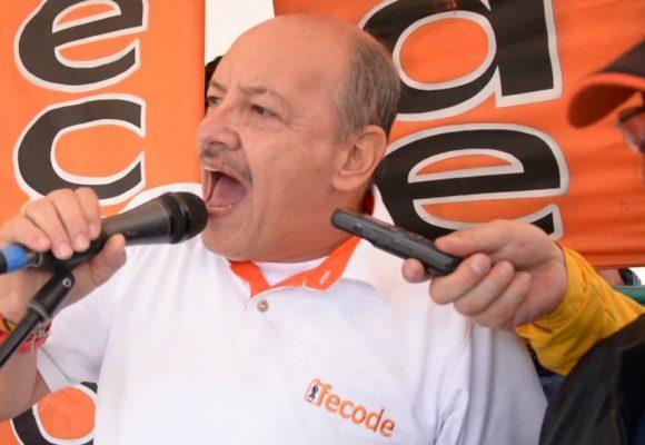 Carlos Rivas, presidente de Fecode, exponente de un sindicalismo alternativo
