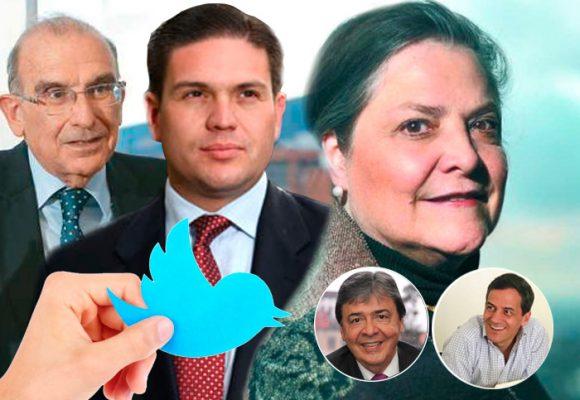 Los 5 políticos colombianos más sosos en la redes