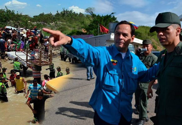 El provocador Chavista de la frontera colombo-venezolana