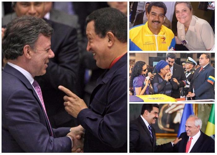 Los aliados colombianos de Chávez que se le voltearon a Maduro... y los que quedan