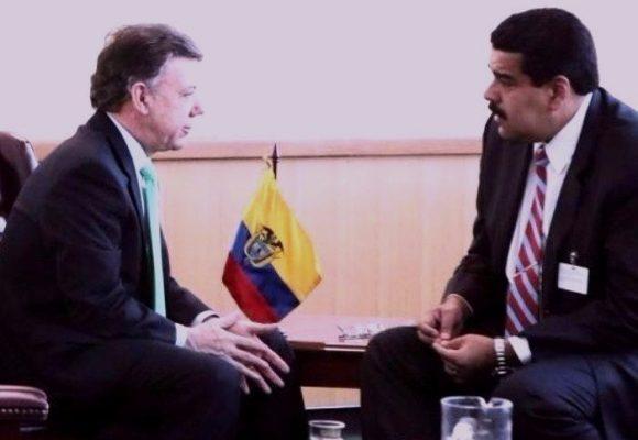 ¿Qué busca Santos peleando con Maduro?