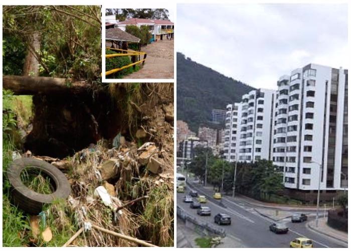 La montaña de basura que amenaza con sepultar el norte de Bogotá