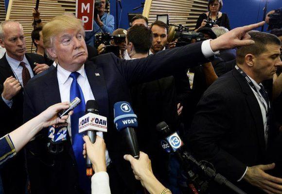 La Pelea entre Trump y los medios: un combate donde pierde la verdad
