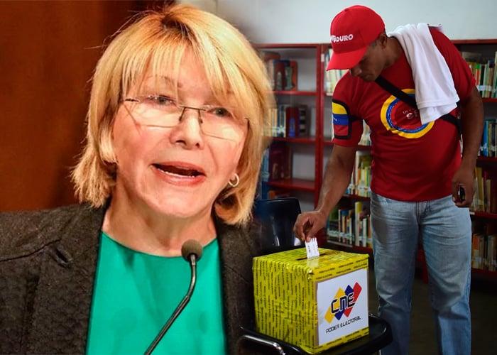 """""""No participó ni el 15% de los electores venezolanos en la constituyente"""": Fiscal venezolana"""