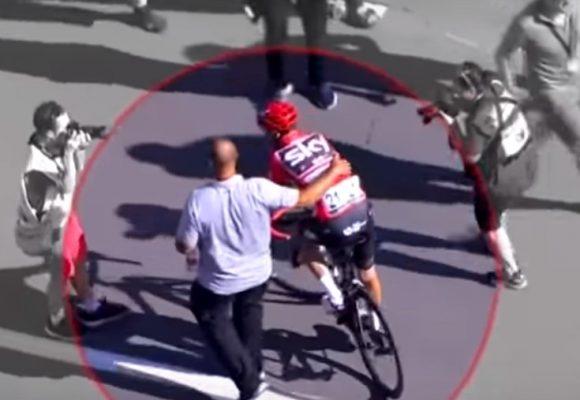 El video que probaría que la bicicleta de Froome tiene un motor