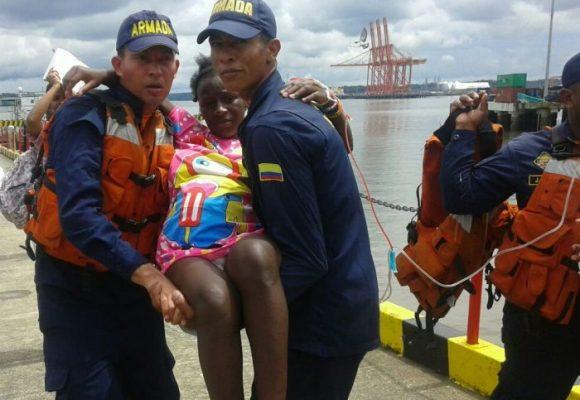 En la Bocana, la Armada trabaja como guardiana de la bahía
