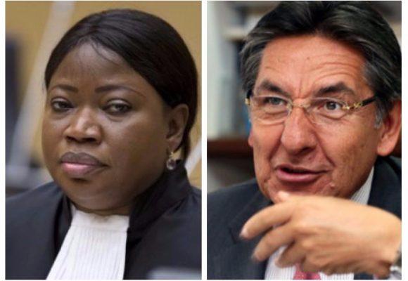 El fiscal Martínez despacha a la delegada de la Corte Penal Internacional con las manos vacías