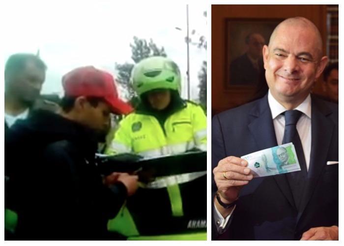 Video: Policía detiene a empleado de Vargas Lleras por decir que es de la Registraduría