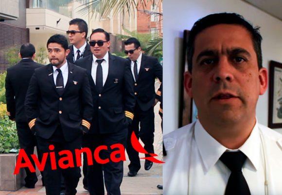 VIDEO: La refinada huelga de los pilotos de Avianca en el barrio Chicó de Bogotá