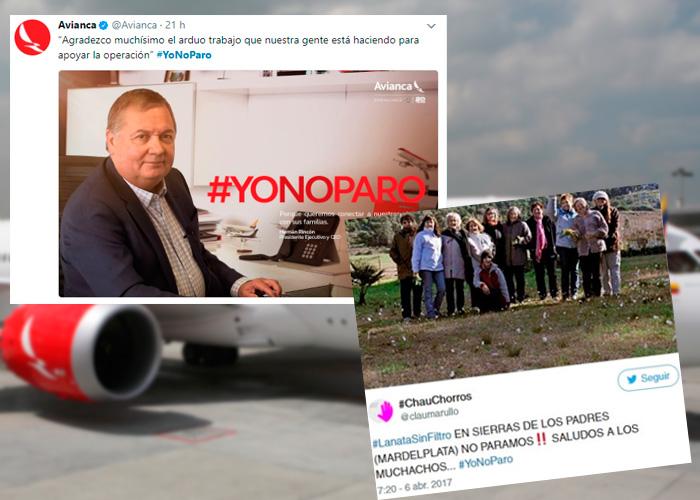 #YoNoParo: la copia de Avianca en su estrategia digital contra la huelga de los Pilotos