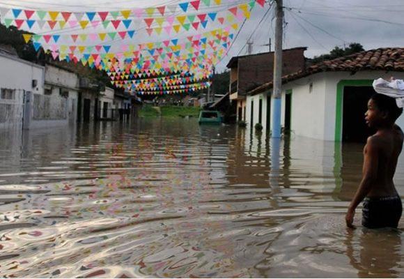 El desplazamiento climático en Colombia