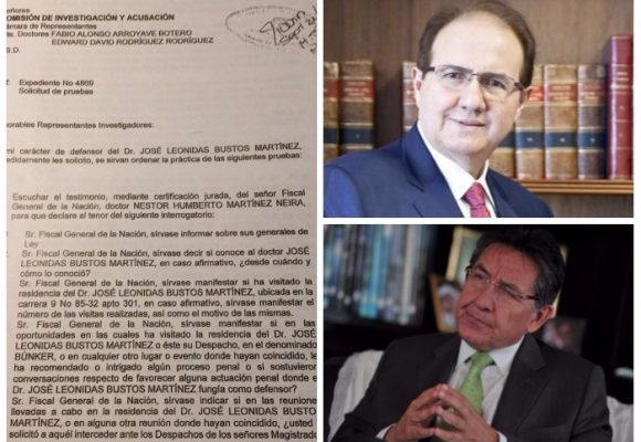 El cuestionario con el que Leonidas Bustos pretende involucrar judicialmente a Néstor Humberto Martínez