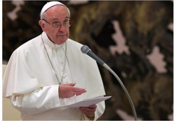 En su discurso en la Casa de Nariño, el papa prefirió citar más a Gabo que a la Biblia