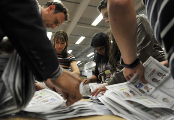 Crónica del fraude electoral en Colombia