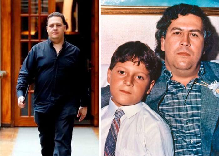 Juan Pablo, el hijo de Pablo Escobar, da conferencias motivacionales con la historia de su padre