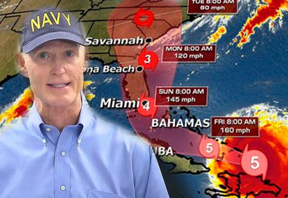 """""""No podemos salvarte"""", el mensaje del gobernador de la Florida ante la llegada del huracán Irma"""