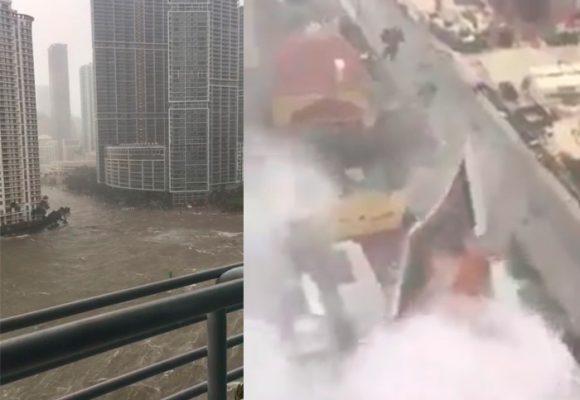 En VIDEO: así arrasó el huracán Irma una casa en Miami