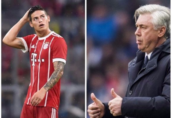 Los 'cracks' del Baryern no le perdonaron a Ancelotti su preferencia por James