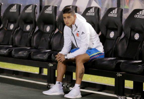 James no podía con la ansiedad de entrar a ganarle a una Venezuela Sub 20