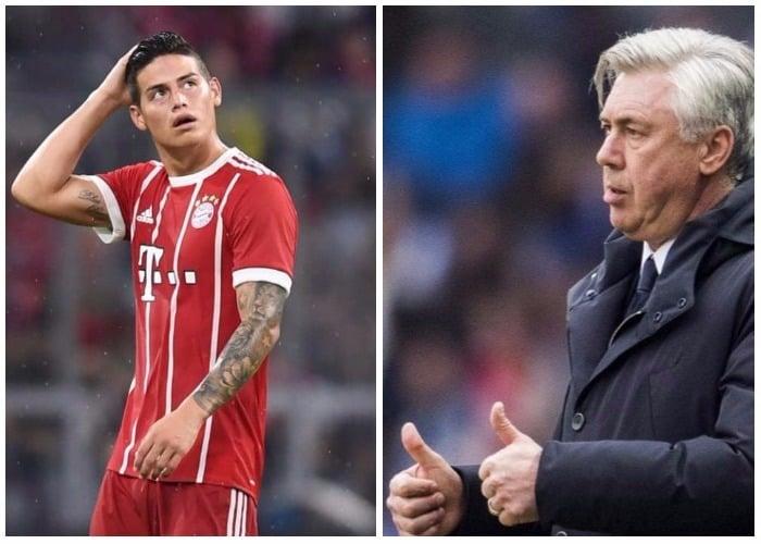 Los 'cracks' del Baryern no le perdonaron a Ancelotti su preferencia por James