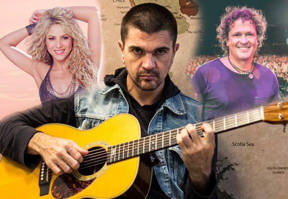Sin dejarse arrastrar por el reguetón, Juanes logró su 35 nominación al Grammy