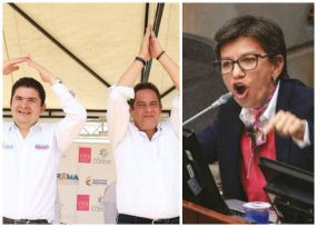 Claudia López a pedirle disculpas al ministro de Cambio Radical