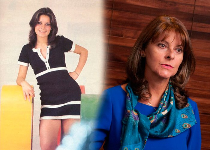 Cuando Marta Lucía Ramírez tenía las piernas más cotizadas de Colombia
