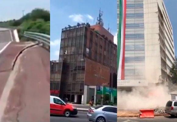 VIDEO: Los minutos que horrorizaron a México con un terremoto de 7.1M
