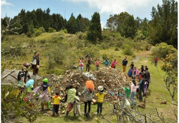La nueva escombrera que se está formando en los Cerros Orientales
