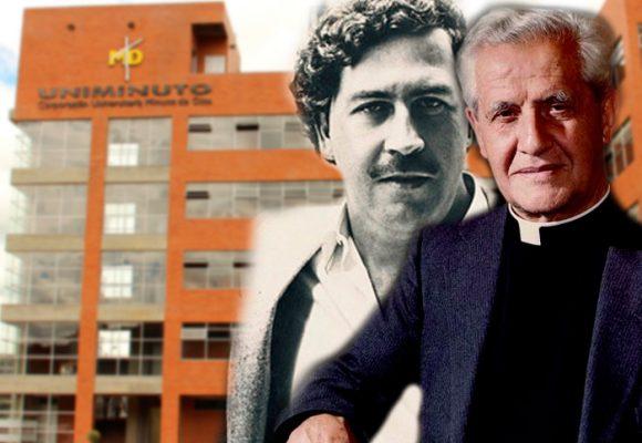 El padre García Herreros, creador de la Uniminuto, será santo a pesar de su lío con Pablo Escobar