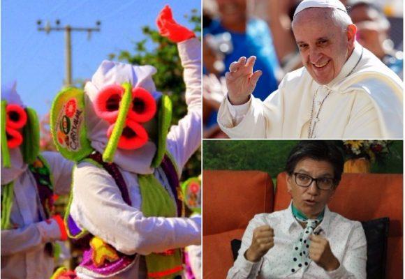 La marimonda se la hicimos al papa y se la llevó alegre