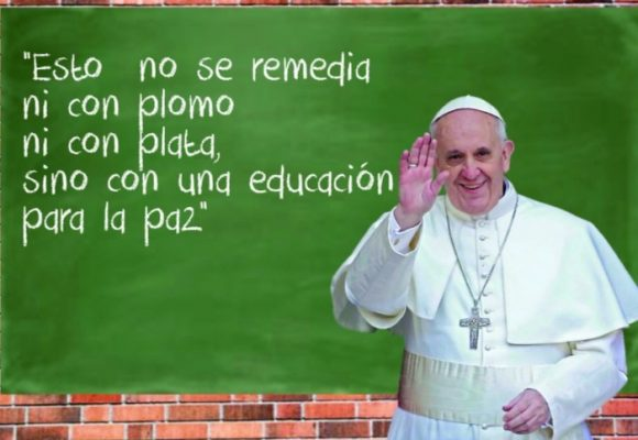 Del papa al oído de la ministra de Educación
