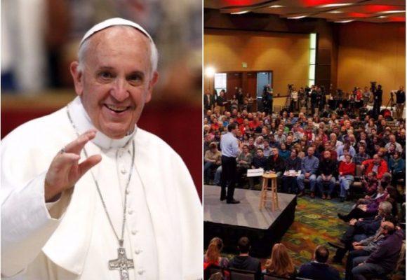 Papa Francisco vino a robarles las ovejas a los pastores evangélicos