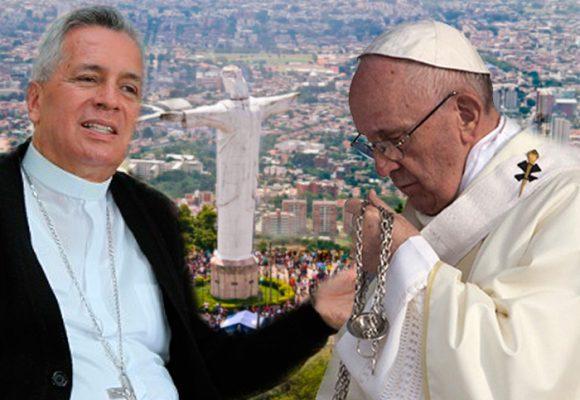 """""""Por los problemas morales y financieros de nuestra Arquidiócesis el Papa no vino a Cali"""""""
