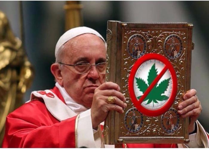 El papa Francisco, embajador de la legalización de la droga