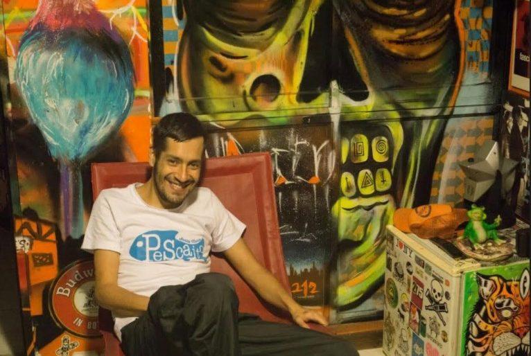 Un apartamento sin 1 cm sin grafitear en un exclusivo barrio de Cali