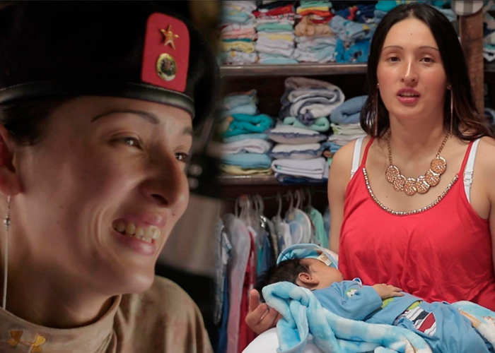 Tania y su bebé atrapados en la incertidumbre de unos Acuerdos que no caminan