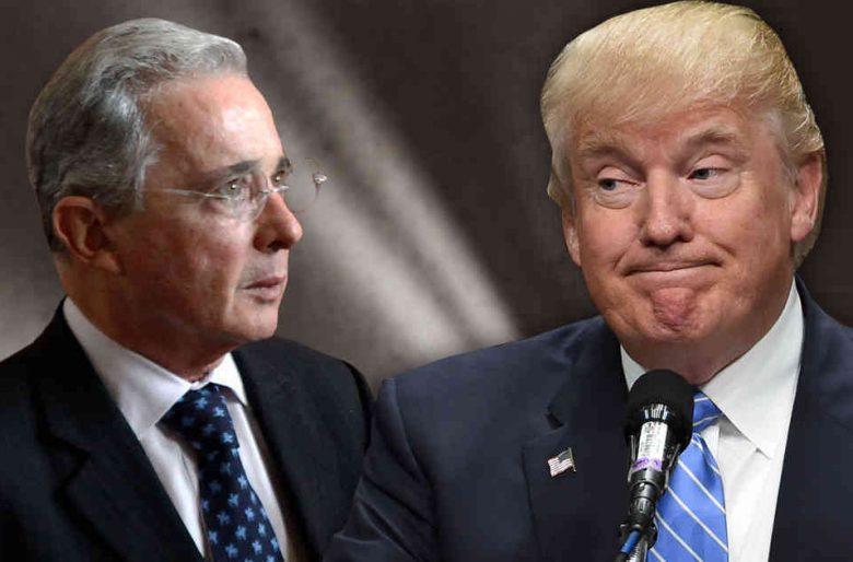 Trump rescata a Álvaro Uribe del hueco en el que lo había enterrado  el papa Francisco