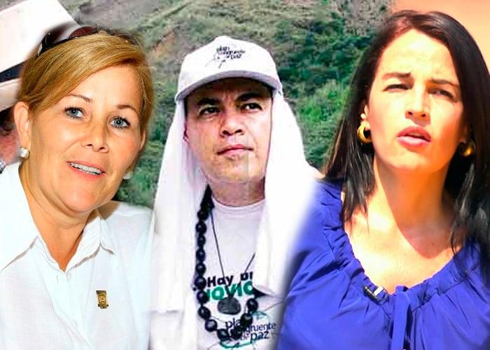 Yolanda Pinto y el gobernador Guillermo Gaviria: una historia de amor y ambición
