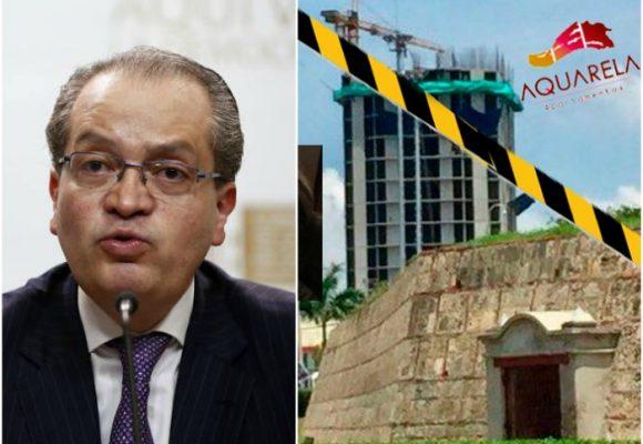 La Procuraduría pidió suspender la construcción de los edificios que querían tapar el Castillo de San Felipe