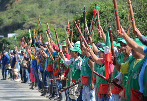 Se viene la minga indígena en el Cauca