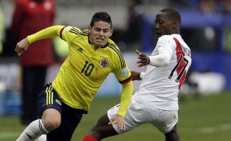 En Perú creen que nos van a ganar muy fácil…vamos Falcao y James a callarles la boca