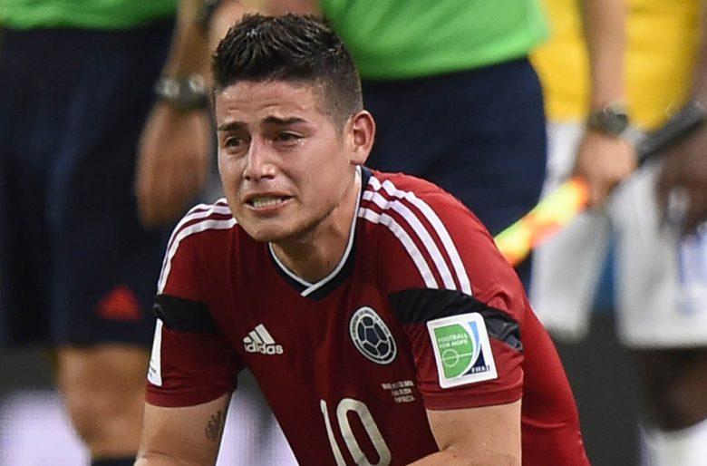 James está jugando muy mal, debería ser suplente contra Perú