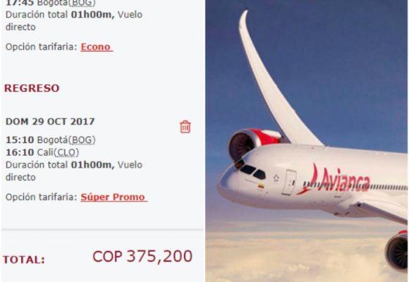 Aclaración de Avianca: Sobre tarifas de vuelos