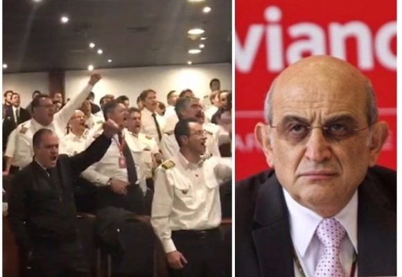 VIDEO: Los pilotos de Avianca se mantienen firmes y desafían a Efromovich
